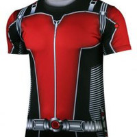 Ant-Man Costume Print Short Sleeve T-Shirt
