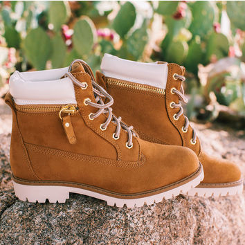 Let's Ride Worker Boots