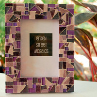 Purple Picture Frame 5 x 7