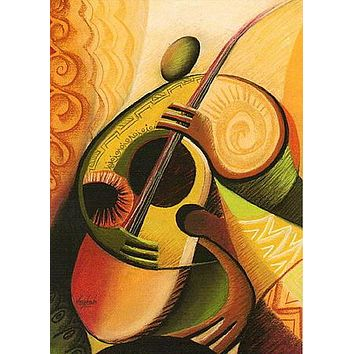 """STRINGS (Giclee) *The Julian Bass Special* """"World's gonna know your name!!!"""""""