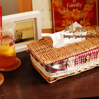 Tissue Box Storage Basket [6283512518]