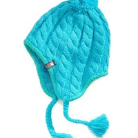 The North Face Kids Beanie, Girls Fuzzy Earflap Hat