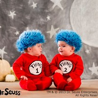 Baby Dr. Seuss's™ Thing 1 and Thing 2 Baby Costume