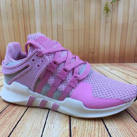 """Women """"Adidas"""" Equipment EQT Support ADV Purple Pink Casual Sports Shoes"""