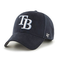 MLB Tampa Bay Rays Basic MVP Adjustable Hat, Youth