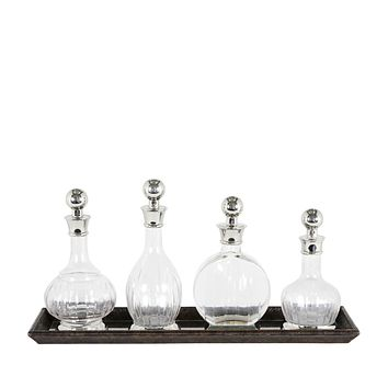 Glass Decanter Set of 4 | Eichholtz Armagnac