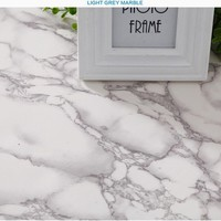 Thickened self-adhesive imitation marble texture wallpaper PVC waterproof scrubable wallpaper TV background furniture renovation