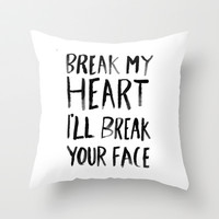 Love Throw Pillow by POP.