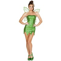 Sexy Cheeky Glitter Fairy Halloween Costume
