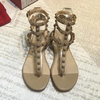 Valentino Women Fashion Casual Sandals Shoes-2