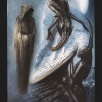 HR Giger The Magus Poster 24x36