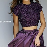 Two Piece Sherri Hill Homecoming Dress