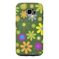 Artistic Flowers Samsung Galaxy S6 Cases