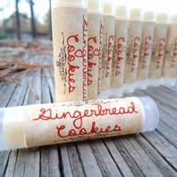 Gingerbread Cookies Lip Balm, Chap Stick