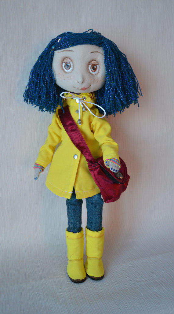 Reserved Coraline Jones Coraline Doll From Elenadolls On Etsy