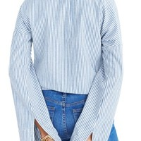 Madewell Convertible Cold Shoulder Top | Nordstrom