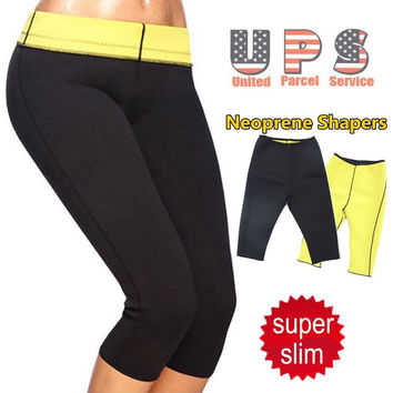 Super Stretch Women Shapers Control Panties Pant Stretch Neoprene Slimming Body Shaper Plus Size S-3XL HJ