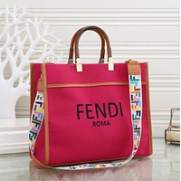 FENDI Women's Full Letter Shoulder Bag Messenger Bag