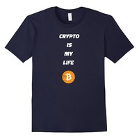 Crypto Is My Life T Shirt Tee Vintage Style
