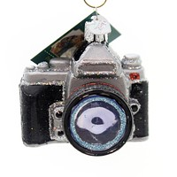 Old World Christmas Camera Ornament Picture Memory - 32227