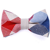 Tok Tok Designs Pre-Tied Bow Tie for Men & Teenagers (B169, 100% Cotton)