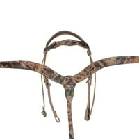 Matching Camo Headstall and Breastcollar