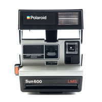 Polaroid Sun 600 LMS Instant Film Camera Takes Impossible Project Film!