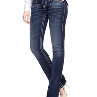 True Religion Hand Picked Bootcut Big T Womens Jean - Lone Grove