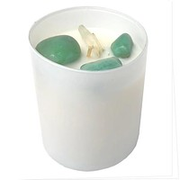 Crystal Candle White Aventurine