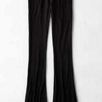 AEO Women's Don't Ask Why Slim Flare Soft Pant