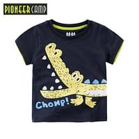 Kids 2-10Y 100% Cotton Boys T Shirts Kids Clothing Baby Tee Girls Cartoon Pattern Design Child's Clothes Tops&Tee