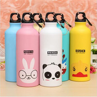 Portable Outdoor Sports Cycling Camping Bicycle Aluminum Alloy School kids Water Bottle