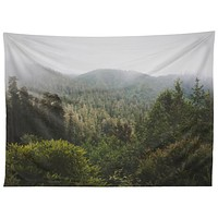Catherine McDonald Northern California Redwood Forest Tapestry