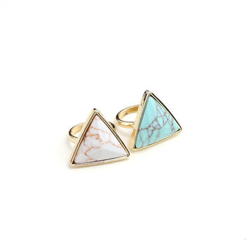 Shiny New Arrival Jewelry Gift Stylish Accessory Turquoise Ring [10794314055]
