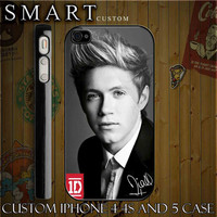 Nial Horan One Direction 1D Custom For Iphone  4,4s And  Also Available for iphone 5 hard case