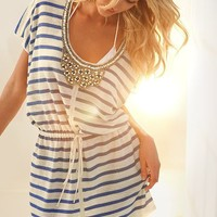 Embellished Cover-up Sweater