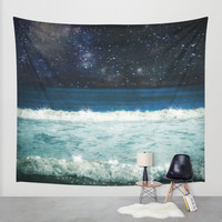 The Sound and the Silence Wall Tapestry by Jenndalyn