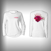 Lion Fish - Womens Performance Shirt - Fishing Shirt