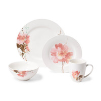 16pc Amore Floral Dinnerware Set - Dining & Entertaining - T.J.Maxx