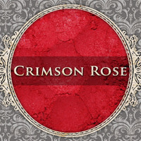 CRIMSON ROSE Matte Eyeshadow: 3g or 5g Sifter Jar, Bright Red, Cosmetic Pigment, Ships Out in 4-6 Days