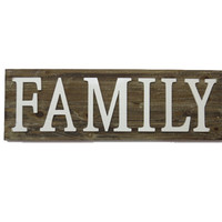 Family Wood Wall Home Decor
