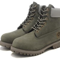 Timberland 10061 Leather Lace-Up Boot Men Women Shoes