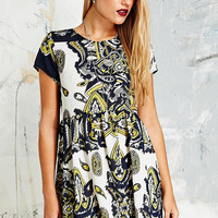 Vintage O&O Babydoll Dress in Paisley - Urban Outfitters