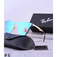 RayBan 2018 new men and women aviator sunglasses color film polarized sunglasses #6