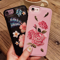 Iphone 6/6s Embroidery Iphone Vintage Phone Case [11686939279]