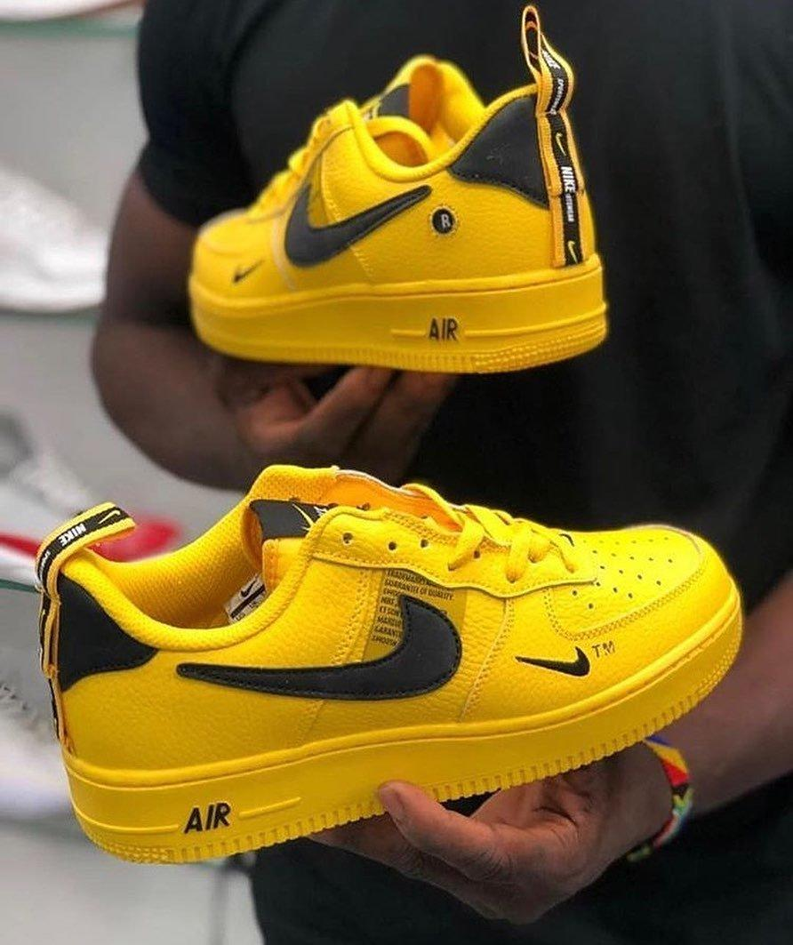 Image of Nike Air Force 1'07 Pure colour Air Force No.1 sneakers