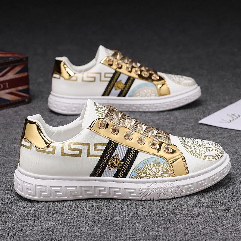 Image of Versace summer breathable men's sneakers shoes