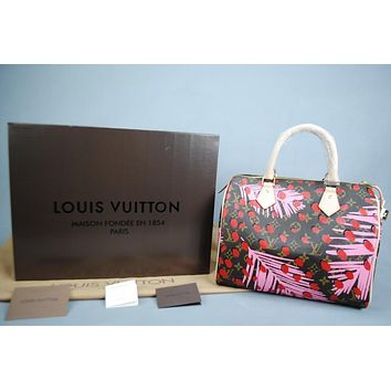 Louis Vuitton Jungle Speedy Ladies Bag Damentasche Pre-Owned Like New Free DHL Shippin