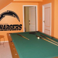 Wall Decal NFL San Diego Chargers 001 FRST