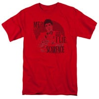 SCARFACE/TRUTH-S/S ADULT 18/1-RED